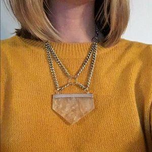 Jewelry - Clear Quartz Necklace